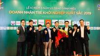 Nghệ An có 3 gương mặt được trao danh hiệu 'Doanh nhân trẻ khởi nghiệp xuất sắc năm 2019'