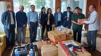 Hội Hỗ trợ gia đình liệt sỹ tỉnh trao hơn 143 triệu đồng cho người dân vùng lũ Quảng Bình