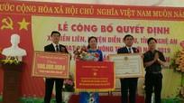 Xã Diễn Liên (Diễn Châu) đón nhận Bằng đạt chuẩn nông thôn mới