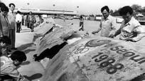 Máy bay Hàn Quốc bị đánh bom do Triều Tiên thực hiện trước thế vận hội 30 năm trước