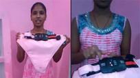 Cô gái chế tạo quần lót gắn camera chống cưỡng hiếp