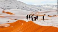 Tuyết phủ đầy sa mạc nóng nhất thế giới