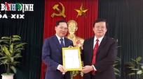 Luân chuyển Bí thư Trung ương Đoàn tham gia Ban Thường vụ Tỉnh ủy Bình Định