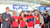 Hàng nghìn người Việt chính thức lên đường sang Trung Quốc cổ vũ đội tuyển U23