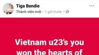 U23 Việt Nam nhận được sự hâm mộ trên khắp châu lục