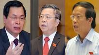 Điểm danh những cựu lãnh đạo bị cách chức trong hai năm