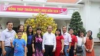 Mở cửa trụ sở đón khách dịp Tết, chính quyền được dân khen thân thiện