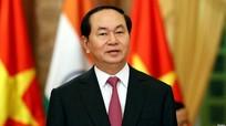 Chủ tịch nước Trần Đại Quang trả lời phỏng vấn báo chí Bangladesh