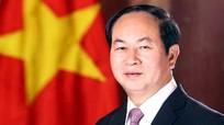 Chủ tịch nước Trần Đại Quang thăm cấp nhà nước tới Bangladesh