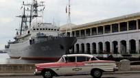 Tàu do thám Nga tiếp tục áp sát vùng biển Mỹ