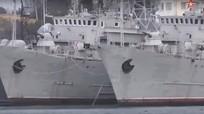 Tướng Ukraine nghi ngờ Nga có âm mưu khi trả tàu quân sự ở Crimea