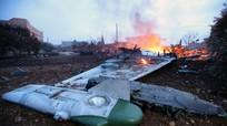 Phi công Su-25 Nga bắn súng đáp trả phiến quân trước khi bị giết