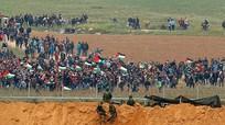 Xe tăng Israel bắn chết người biểu tình Palestine