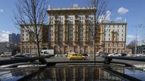 60 nhà ngoại giao bị trục xuất khăn gói rời Đại sứ quán Mỹ tại Moskva