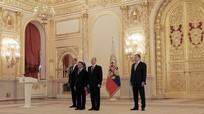Đại sứ Việt Nam tại Nga trình quốc thư lên Tổng thống Putin