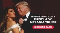 Ông Trump chợt 'nhiều lời' ca ngợi vợ xinh đẹp, xuất chúng