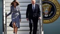 Ông Trump viết sai tên của vợ
