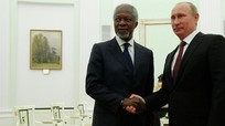 Ông Putin: Kofi Annan sẽ mãi mãi được tưởng nhớ trong trái tim người Nga