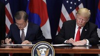 Tổng thống Trump hài lòng về món quà cho Washington từ bán đảo Triều Tiên