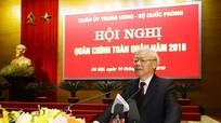 Tổng Bí thư, Chủ tịch nước Nguyễn Phú Trọng dự Hội nghị quân chính toàn quân