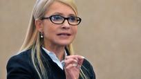 Bà Tymoshenko hứa sẽ khởi tố Poroshenko vì tham nhũng