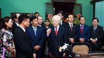Chia sẻ của Tổng Bí thư, Chủ tịch nước ở Nhà 67 - nơi Bác Hồ chia xa