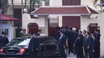 Chủ tịch Kim Jong-un đến Đại sứ quán Triều Tiên tại Việt Nam
