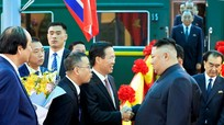 """Ông Kim Jong-un: """"Chúng tôi rất cảm ơn Việt Nam"""""""
