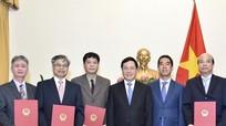 Trao quyết định bổ nhiệm 4 Tổng Lãnh sự