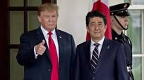 Ông Trump là Tổng thống Mỹ đầu tiên lên một tàu chiến của lực lượng phòng vệ Nhật Bản