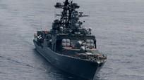 Tướng Nga lên tiếng vụ tàu chiến Mỹ ngáng đường tàu Nga ở Hoa Đông