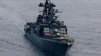 Nóng: Tuần dương hạm của Hải quân Mỹ chặn đường đi tàu Nga ở biển Hoa Đông
