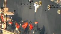 Mỹ trưng thêm bằng chứng Iran tấn công tàu dầu ở vịnh Oman