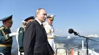 Tổng thống Putin: Hải quân Nga có thể giáng trả bất kỳ kẻ xâm lược nào