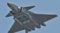 Trung Quốc điều tiêm kích tàng hình J-20 răn đe Đài Loan
