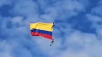 Đu trực thăng biểu diễn, hai lính Colombia thiệt mạng