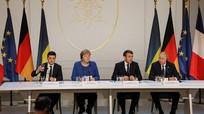 Nga, Pháp, Đức không đề cập đến Crimea tại Hội nghị 'Bộ tứ Normandy' dù Ukraine 'chuẩn bị rất kỹ'