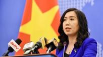 Người phát ngôn Bộ Ngoại giao: Việt Nam không công nhận cái gọi là 'đường 9 đoạn' của Trung Quốc