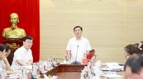 Ban Thường vụ Tỉnh ủy Nghệ An cho ý kiến về định hướng năm học 2020 - 2021