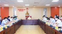 Thường trực HĐND tỉnh tổ chức phiên họp liên tịch bàn nội dung, chương trình kỳ họp thứ hai