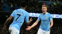 Man City thắng đậm đội cuối bảng, hơn Man Utd tới 15 điểm