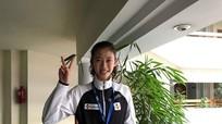 Nữ võ sĩ Kim Ngân giành vé dự Olympic trẻ 2018