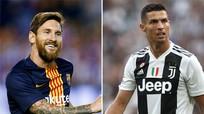 Messi nhận lương cao nhất thế giới, gần gấp đôi Ronaldo