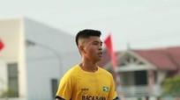 Trung vệ Nguyễn Bá Đức trên con đường đến với Sea Games 30
