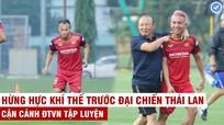 Quế Ngọc Hải bàn với đồng đội tìm cách khóa Chanathip; Ajax lọt vào vòng bảng Champions League