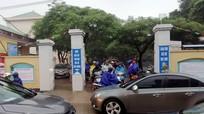 Nhiều địa phương ở Nghệ An cho học sinh nghỉ học vì mưa lớn