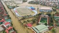 Sân ngập nước khiến Hồng Lĩnh Hà Tĩnh phải chọn sân khách làm sân nhà;HLV Thành Công tin Quảng Nam sẽ tạo ra bất ngờ