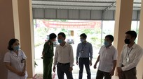 Thái Hòa kiểm tra cơ sở cách ly tại 4 địa phương có các trường hợp F1 và F2