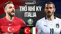 Thổ Nhĩ Kỳ - Italia:  Ba điểm cho thầy trò HLV Roberto Mancini
