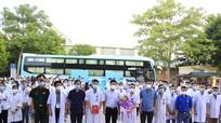 58 y bác sĩ ở TX Hoàng Mai được tăng cường hỗ trợ TP HCM chống dịch